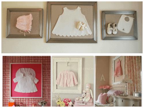 Fotos de enfeites diferentes para quarto de bebê