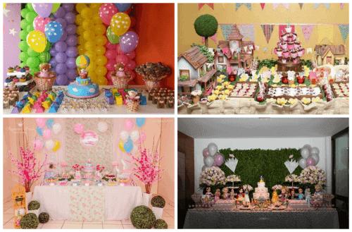 imagens de mesa de festa infantil