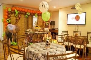 fotos de mesas decorada para aniversário de criança
