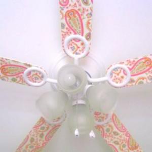 lampadas de teto decoradas para meninas