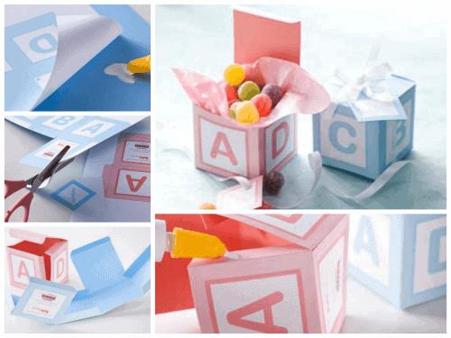 como fazer lembrancinhas simples e baratas de nascimento