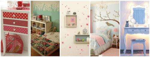 decoração infantil para bebês e meninas pequenas