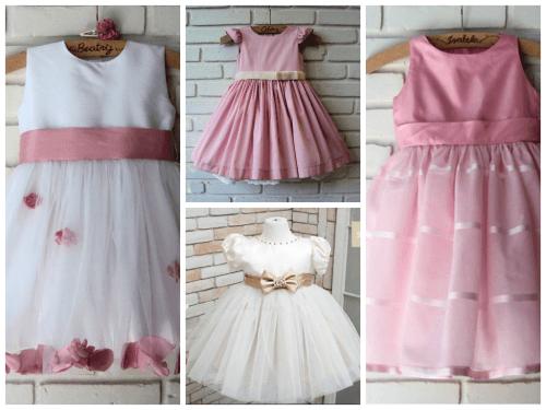 Modelos de vestido de festa infantil princesa