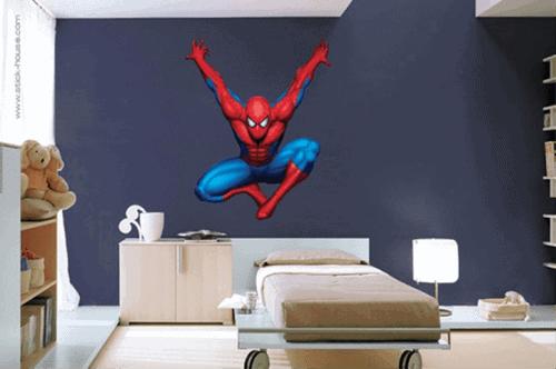 Decoração de quarto infantil masculino tema homem aranha