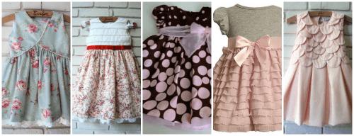 Dicas de vestidos de festa infantil 1 ano