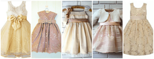 Dicas e modelos de vestido infantil para casamento