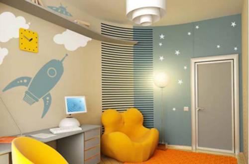 Como fazer decoração de quarto de menino simples passo a passo