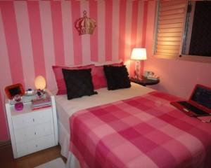 decoração de quarto de menina simples