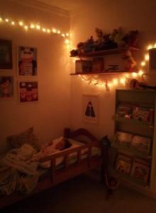 luzes para quarto infantil feminino