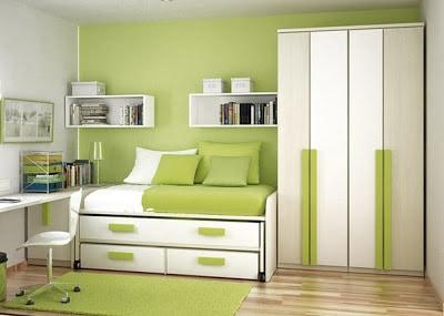Decoração de quarto infantil masculino verde