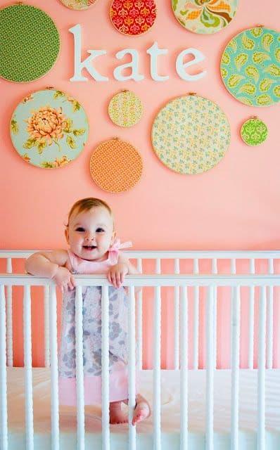 Dicas de enfeites fofos para quarto de bebe feminina