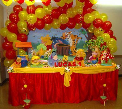 dicas de decoração de festa infantil em casa - menino