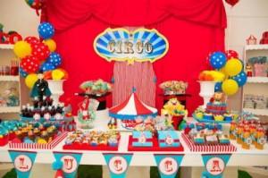 Festa circo infantil