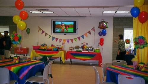 decoração de festa infantil circo simples