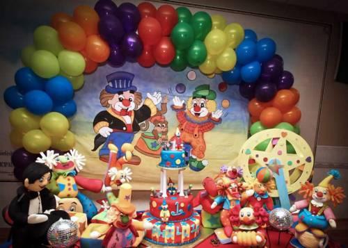 decoração de festa infantil circo patati patata