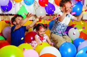 festa infantil em casa simples
