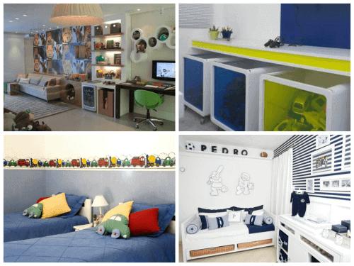 Fotos de quartos de meninos decorados