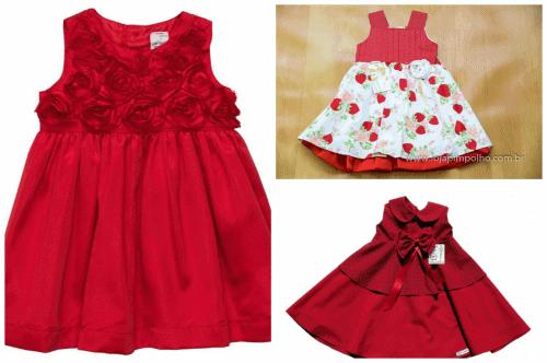 Modelos de vestidos de festa infantil