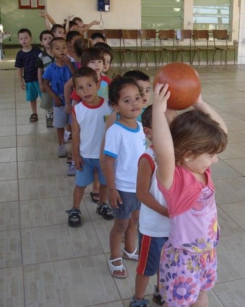 atividades recreativas para crianças - educação física