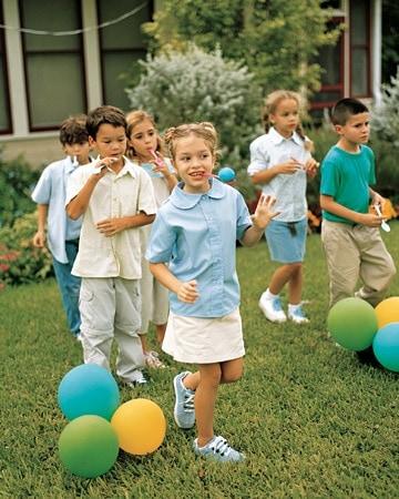 brincadeiras fáceis para festa infantil