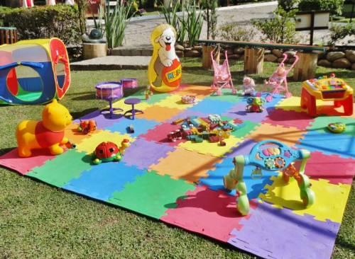 brincadeiras para bebes em aniversário
