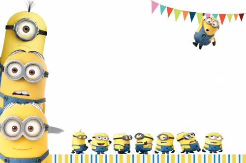Minions Baby Shower Invitations is amazing invitation template