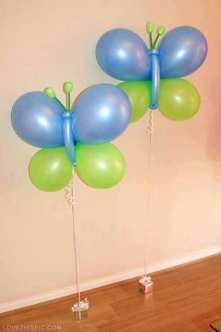 borboleta de balões