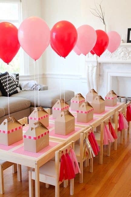 balões para centro de mesa de aniversário