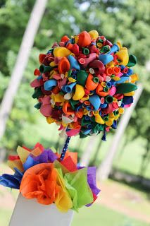 decoração de bexiga para aniversário infantil