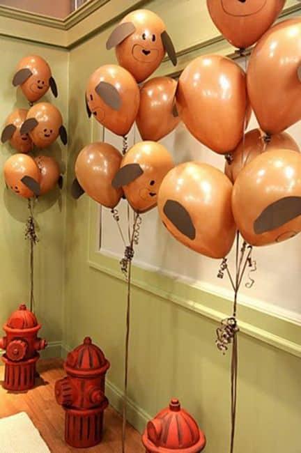 cachorrinho de balões simples de fazer