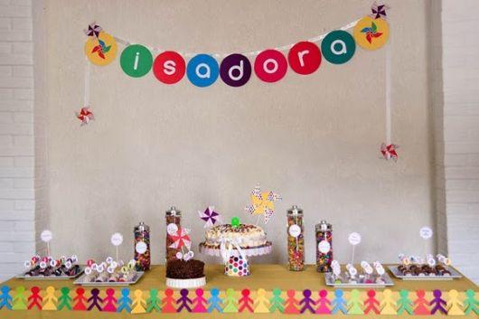 como decorar festa infantil simples