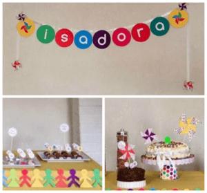 como fazer decoração infantil fácil
