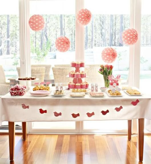 decorações de aniversário infantil simples