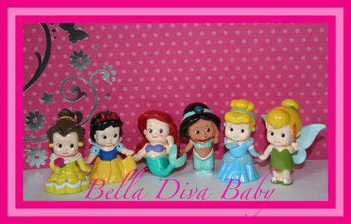 bonequinhas das princesas baby miniaturas