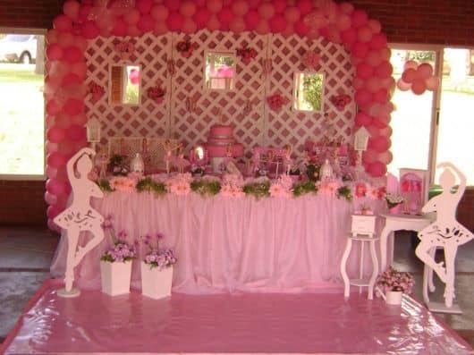 festa da barbie bailarina