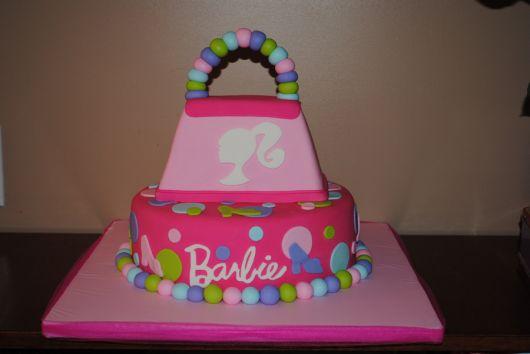 bolo de aniversário da barbie