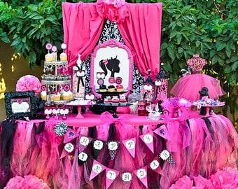 ideia de festa da barbie provençal
