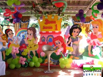 Princesas da disney bebes - até 1 ano
