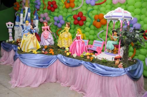 festa das princesas passo a passo