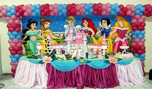 fotos de festa das princesas