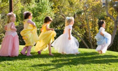 Festa infantil das princesas - vestidos