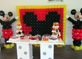 ideias para festa do mickey com balões
