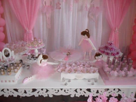 Enfeites para Festa Bailarina provençal infantil