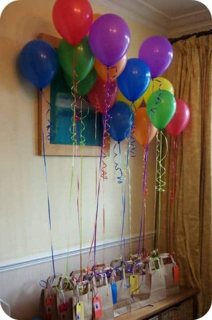 festa de aniversário de criança com pouco dinheiro
