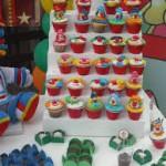 cupcakes de aniversário - tema circo