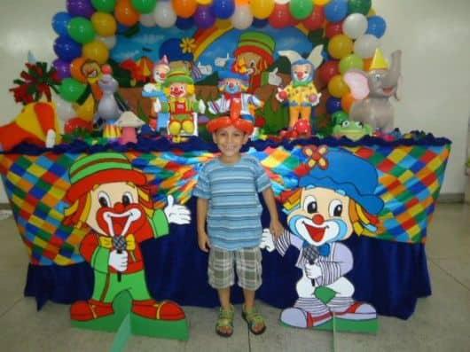 como fazer aniversário de criança - totens do patati patatá