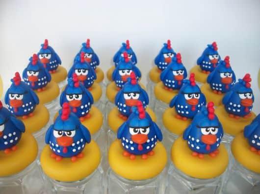 lembrancinhas da galinha pintadinha em biscuit