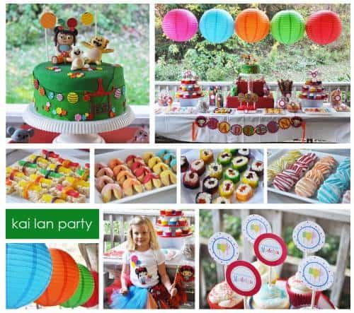 Novidades de doces e salgados para festa infantil