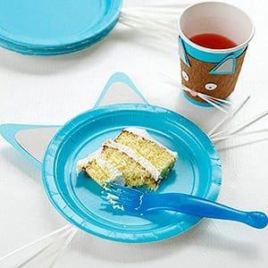 pratinhos enfeitados de festa para crianças