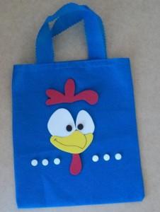 como fazer lembrancinhas da galinha pintadinha